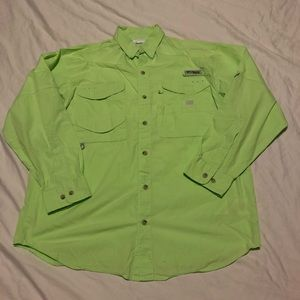 Columbia PFG long sleeve Vented shirt men's small